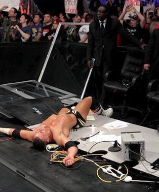 John Cena Vs Miz And Riley