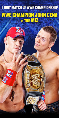 John Cena vs The Miz