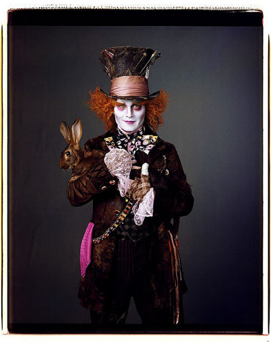 Alice in Wonderland (2010) kertas dinding called Johnny Depp/Mad Hatter