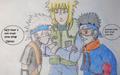 Kakashi , Obito and Minato