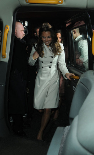 Kate Middleton; Out On Her Birthday 2008