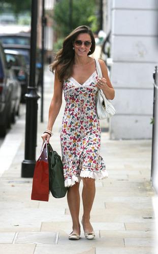 Kate Middleton; Out in Luân Đôn 2007