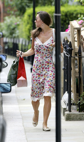 Kate Middleton; Out in लंडन 2007