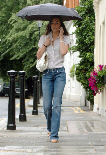 Kate Middleton; Out in Лондон 2007
