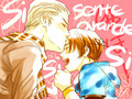 Kiss me~ - hetalia-gerita fan art
