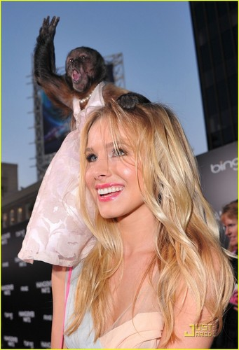 Kristen Bell: Monkey Madness at 'Hangover Part II' Premiere!