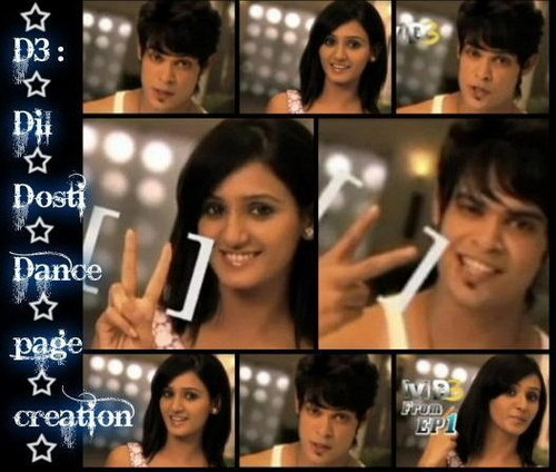 D3 :: Dil Dosti Dance •٠· wallpaper possibly containing a sign and a portrait called Kriyaansh