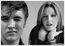 Elvis Aaron Presley and Lisa Marie Presley wallpaper with a portrait entitled L.O.V.E.