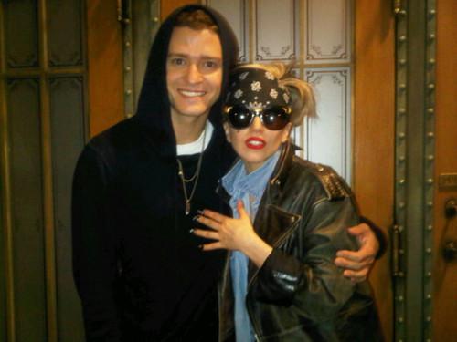 Lady Gaga & Justin Timberlake