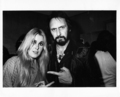 Lita Ford with John Entwistle 1978 - the-runaways photo
