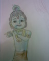 Little krishna drawing  - ben-10-alien-force fan art