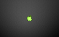 Mac OS - green wallpaper