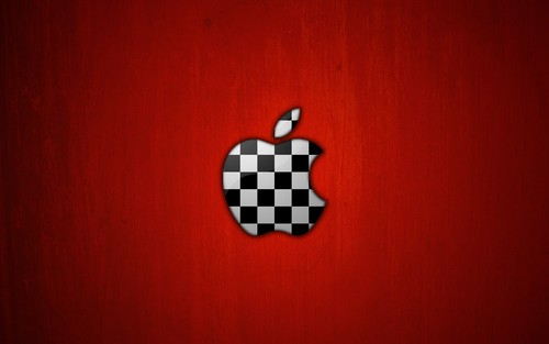 Red Hintergrund entitled Mac OS