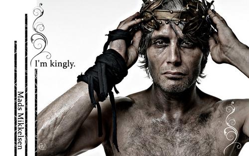Mads Mikkelsen Обои I am kingly