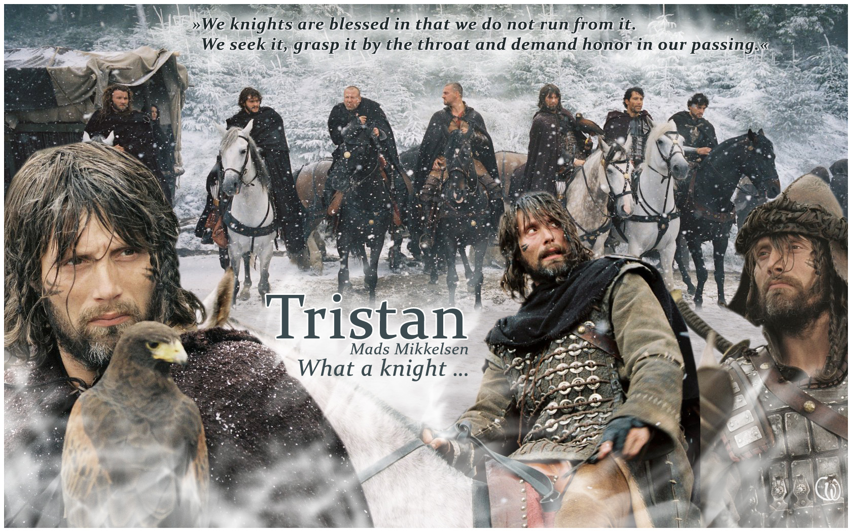 Mads Mikkelsen as Tristan in King Arthur