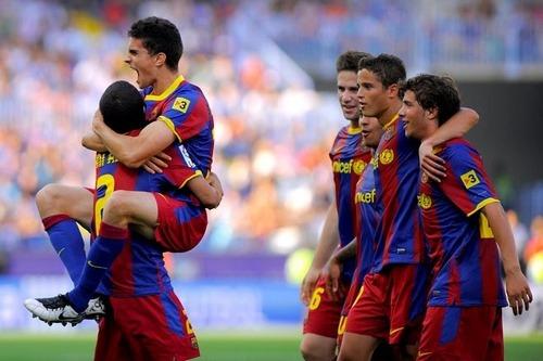 Malaga vs Barceloa la liga week 38[1-3]