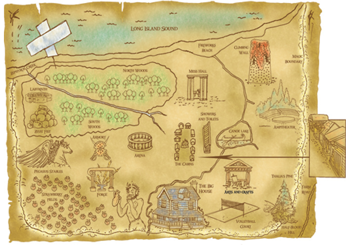 Fan Camp HalfBlood Images Map Of Camp HalfBlood