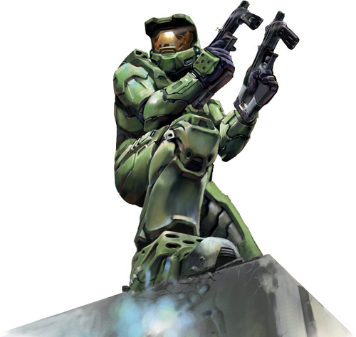 Masterchief with dual gun