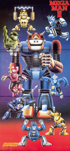 Mega Man 3 Nintendo Power poster