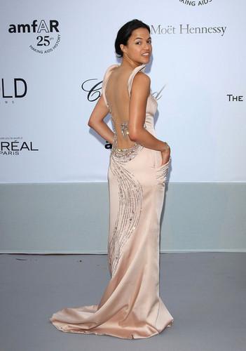 Michelle @ amfAR Gala - Red Carpet Arrivals - 64th Annual Cannes Film Festival - 2011