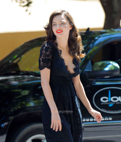 Miranda Kerr spotted during a Photoshoot in Palm Springs, CA, May 17
