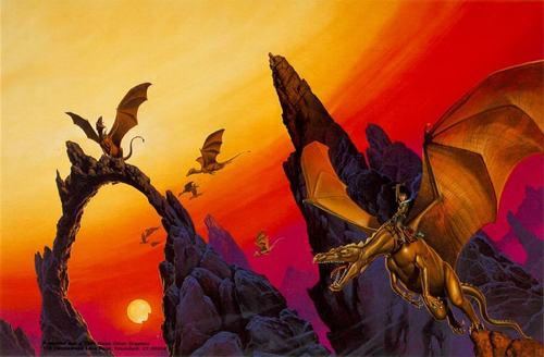 Moreta The Dragon Lady of Pern