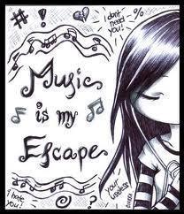 موسیقی is my escape
