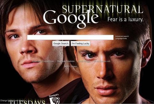My Google Background Image