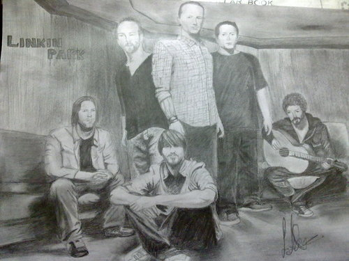 My Linkin Park Sketch!