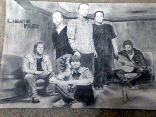 My Linkin Park Sketch!
