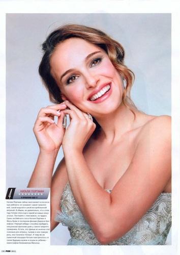 Natalie Portman in a Russian Magazine