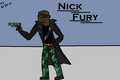 Nick Fury! Request from jadore_renard - total-drama-island fan art