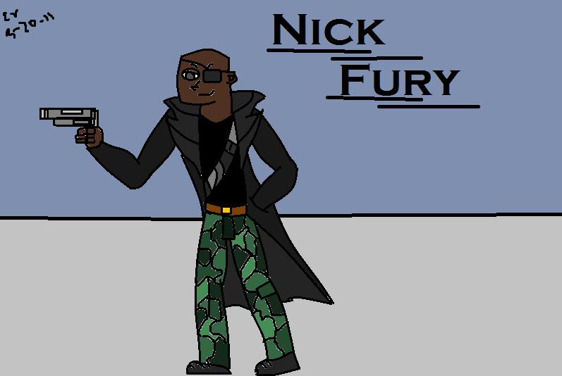 Nick Fury! Request from jadore_renard