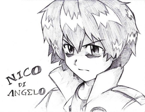 Nico di Angelo fondo de pantalla with anime called Nico Di Angleo (Animae)