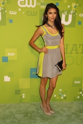Nina @ 2011 CW's Upfront in NYC