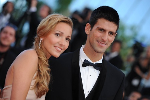 Novak Djokovic images Novak & Girlfriend Jelena At Cannes International Film Festival Red Carpet!! 100% Real ♥ wallpaper and background photos