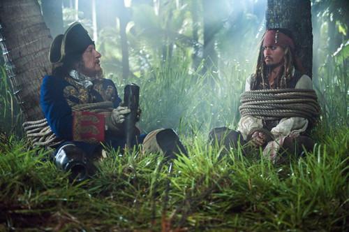 POTC 4 Jack & Barbossa stills