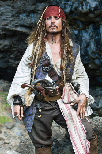 「pirates of the caribbean jack sparrow」の画像検索結果