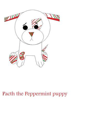 Pacth the peppermint कुत्ते का बच्चा, पिल्ला