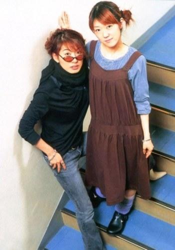 Paku Romi and Kugimiya Rie