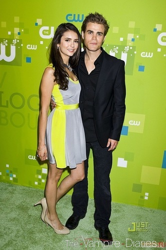 Paul and Nina - The CW Network Upfront (19.05.11)