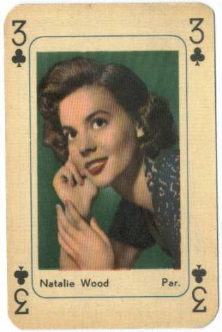 Playing Cards Natalie Wood