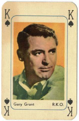 Playing Cards Cary Grant