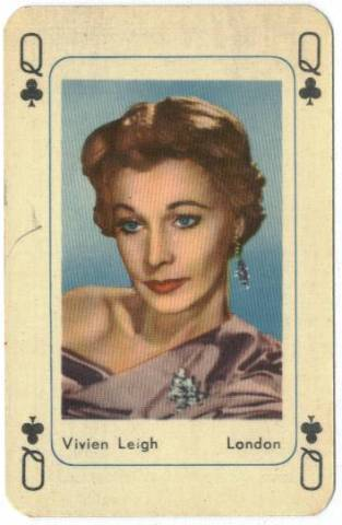 Classic films achtergrond entitled Playing Cards Vivien Leigh