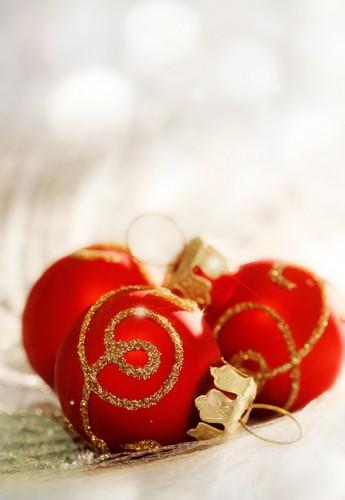 Red Krismas decorations