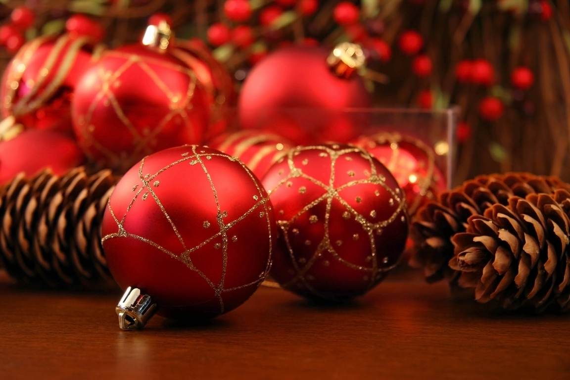christmas images red christmas ornaments hd wallpaper and background photos - Red Christmas Decorations