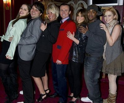 Reunion S Club 7 - Jersey Boys Press Night 29-03-11