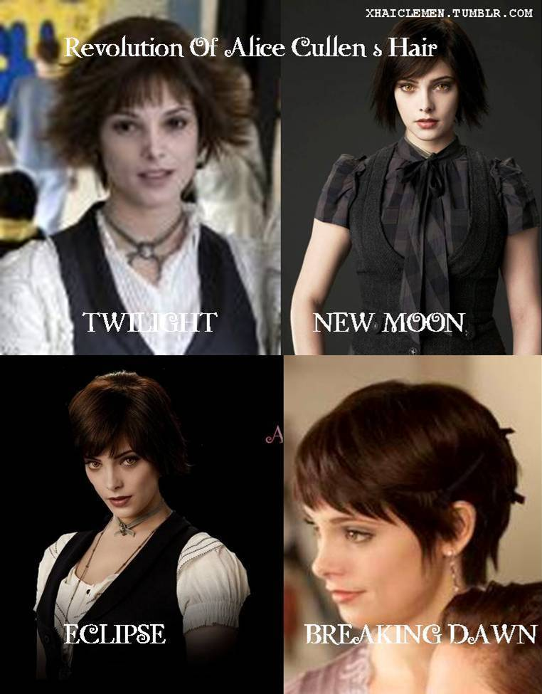 Revolution of Alice Cullen's Hair
