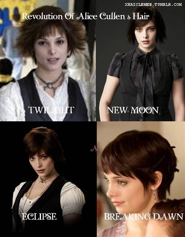 Revolution of Alice Cullen's Hair