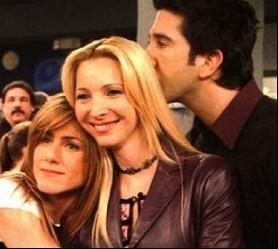 Ross, Phoebe & Rachel